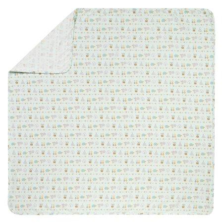 Trend Lab Southwest Adventure Jumbo Deluxe Flannel Swaddle Blanket