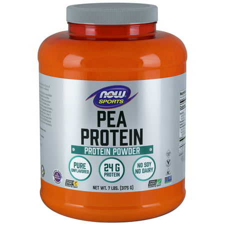 NOW Sports Nutrition, Pea Protein Powder, Unflavored,