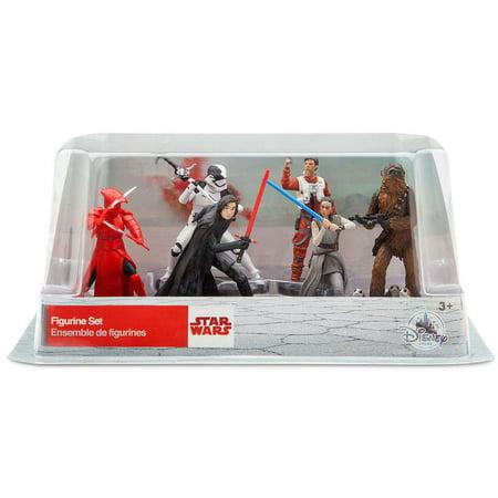 Star Wars The Last Jedi 6-Piece PVC Figure Play