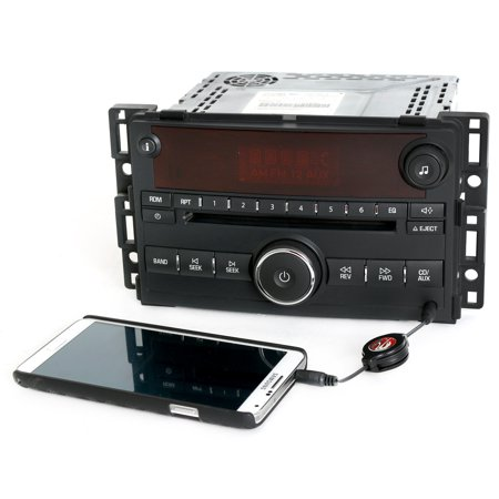 2006-2007 Saturn Ion Vue AM FM CD Player Radio w Auxiliary Input - Part 15878973 - Refurbished (Vue Stereo)