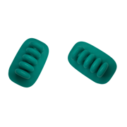 Quirky Cordies Desktop Cord Clips and Anchor for Accessory Cables (Green*2)