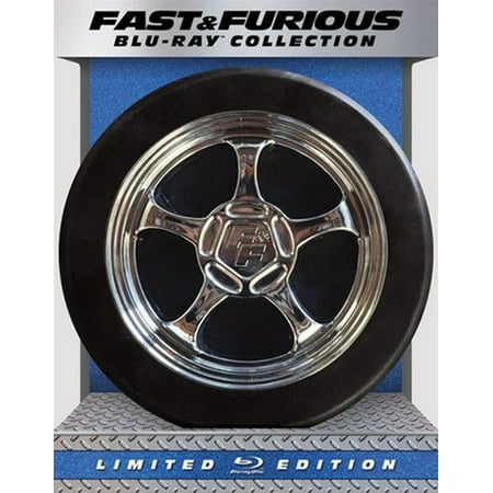 Fast   Furious 1 7 Collection  Blu Ray   Digital Copy