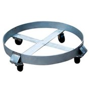 6FVH6 Drum Dolly, 800 lb., 6-1 2 In H, 55 gal. by VALUE BRAND