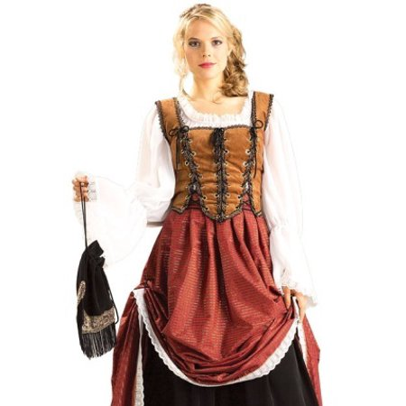 Scottish Beer Bar Maid Tavern Wench Halloween Costume