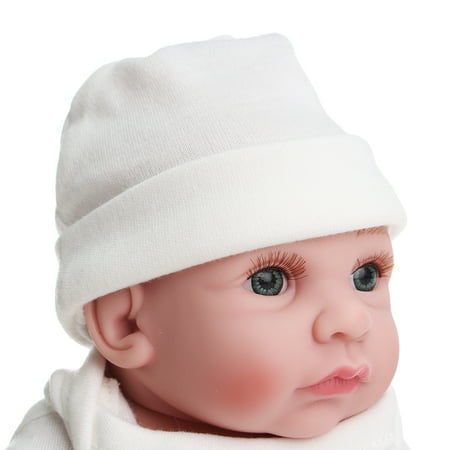 11'' High Quality Moveable Silicone Newborn Reborn Baby Dolls Lifelike Realike Vinyl Alive Baby Doll for Toddler Kids - image 3 of 10