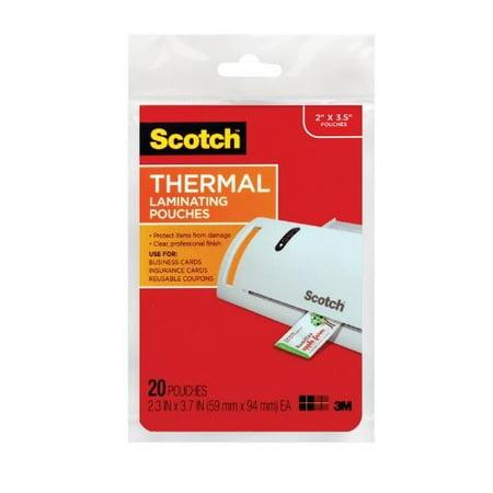 Scotch - 20 - Lamination Pouches - Pressure Sensitive Lamination Pouch