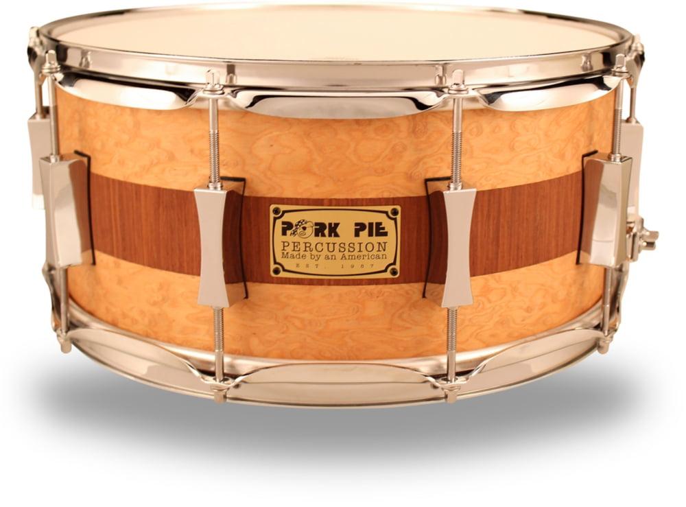 Pork Pie USA USA Custom Snare Drum 14 x 6.5 in. by Pork Pie USA