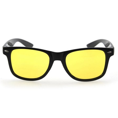 a92c91d4b6f Yellow Lens UV Protection Polarized Night Vision Glasses Eyeglasses  Anti-Glare Driving Sunglasses Sport Outdoor Riding Goggle - Walmart.com