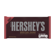 Hershey's, Special Dark Mildly Sweet Chocolate Bar, 6.8 Oz.