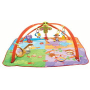 Tiny Love Gymini Move and Play Activity Gym Play Mat, Animal Friends