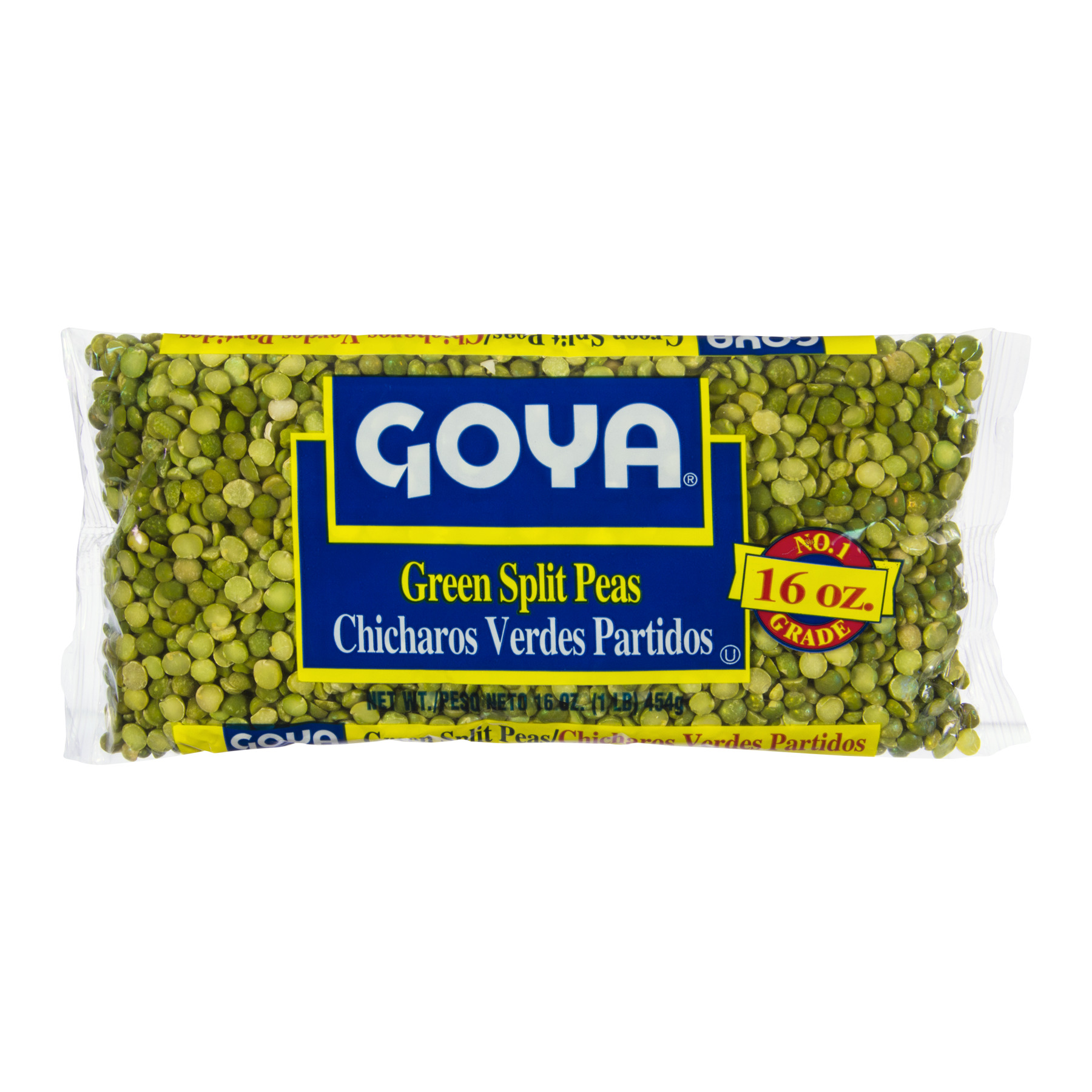 Goya Green Split Peas, 16oz