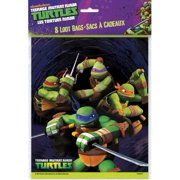 Teenage Mutant Ninja Turtles Favor Bags - Birthday & Theme Party Supplies - 8 per pack
