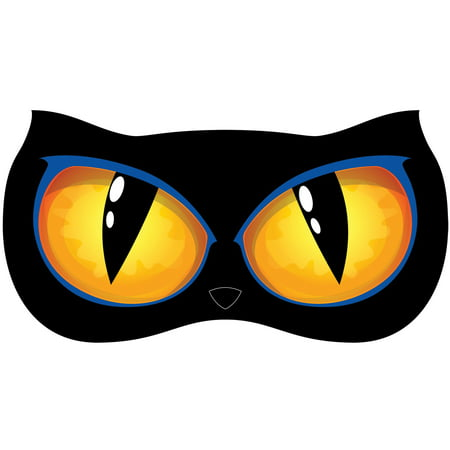 Animated Lighted Eyes, Cat Halloween Decoration