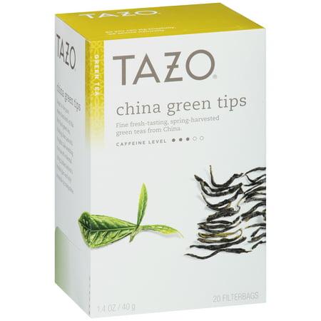 Tazo ® Chine Conseils vert thé vert 20 ct. Boîte