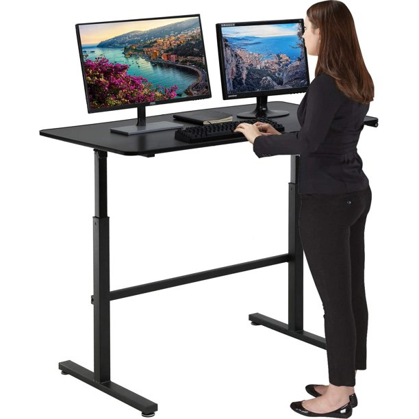 Standing Desk Converter Height Adjustable Desk Computer ...