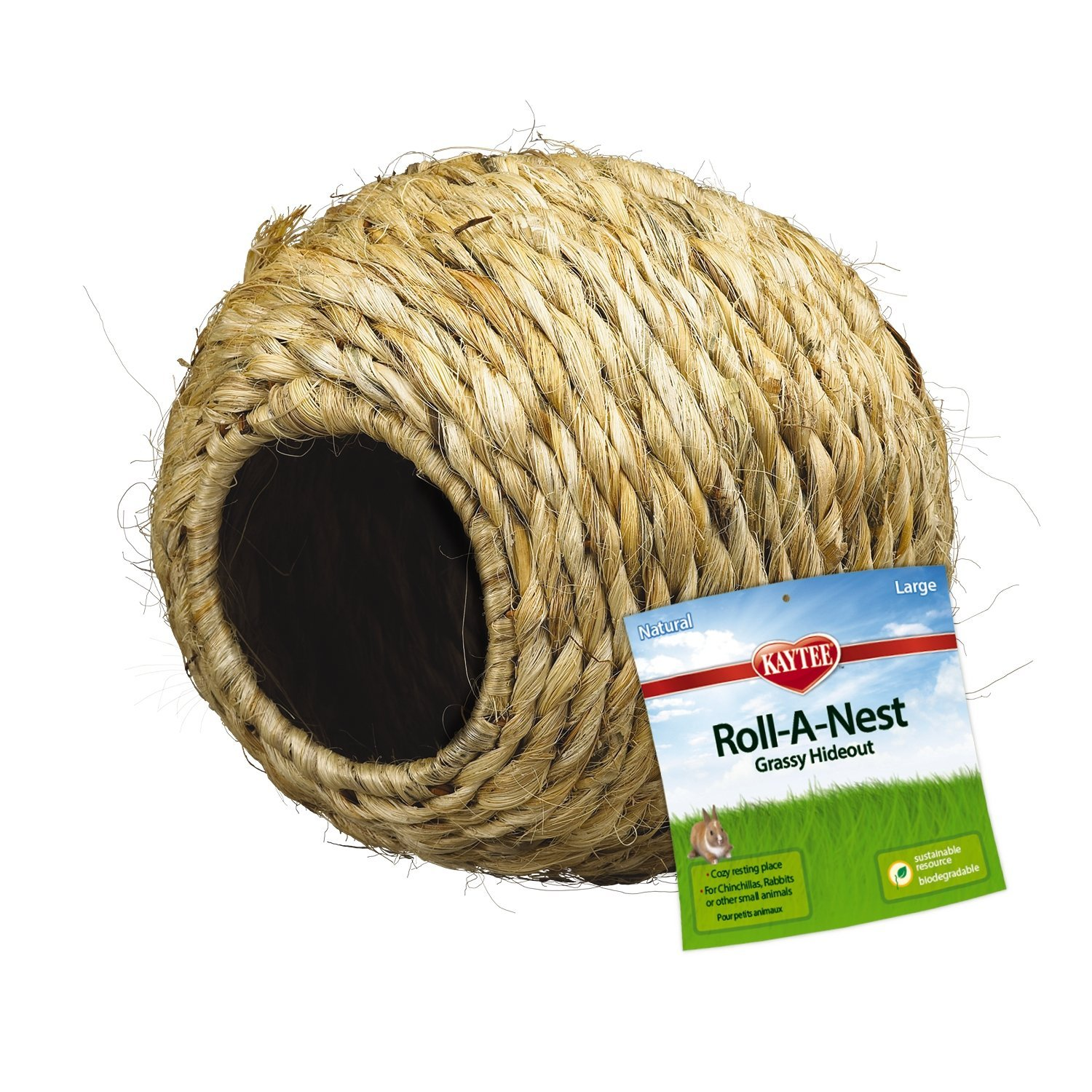 Super Pet Guinea Pig Grassy Roll-a-Nest Hideout