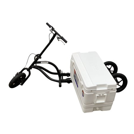 KREWESER Tricycle Electric Hub Motor w/ Cooler & Removable Battery