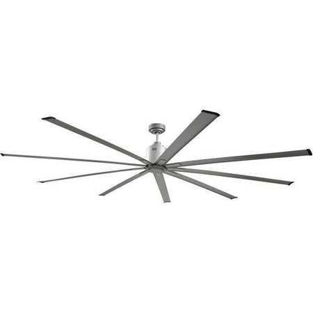 "Big Air 72"" 6-Speed Industrial Ceiling Fan in Brushed Nickel"