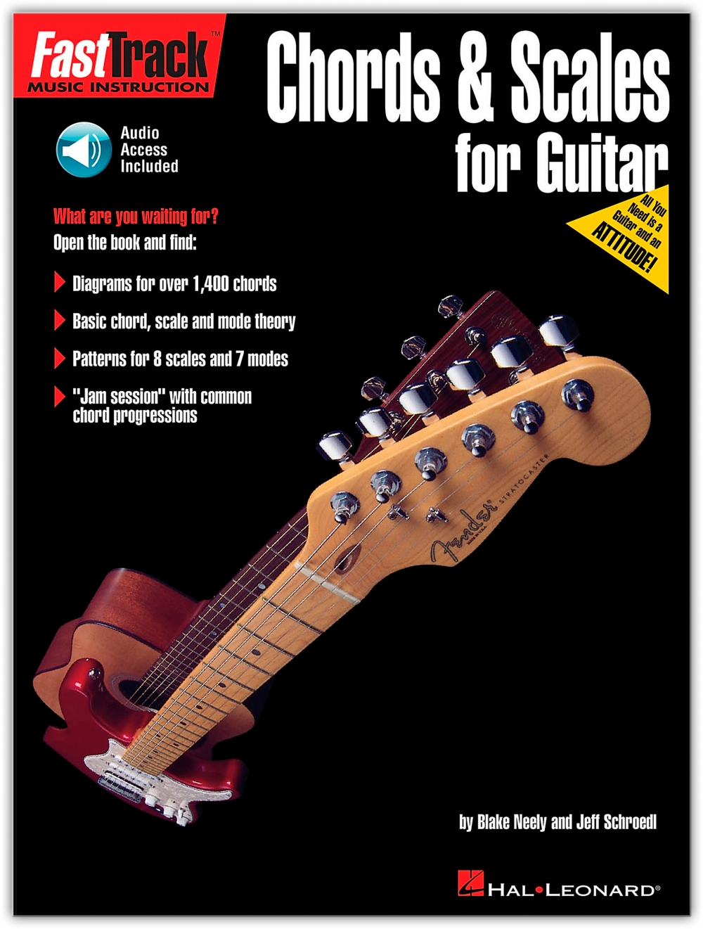 Hal Leonard Chords and Scales for Guitar (Book Online Audio) by Generic