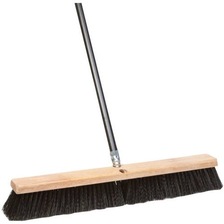 "DQB Industries 18"" All Purpose Push Broom"