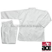 Middleweight 7 oz Student Karate Uniform, White size 6