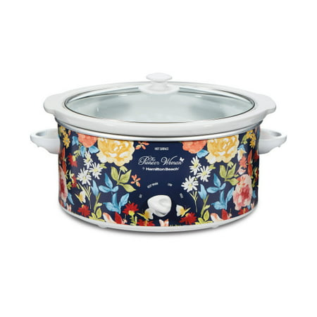 The Pioneer Woman Hamilton Beach 5 Quart Fiona Floral Slow Cooker