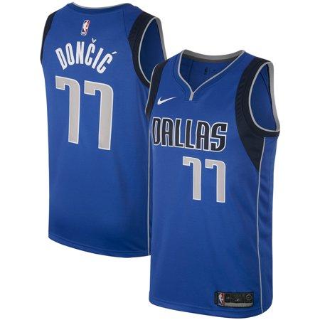 new product 9d6e4 b6480 Dallas Mavericks Luka Doncic Nike Men's Swingman Jersey - Royal