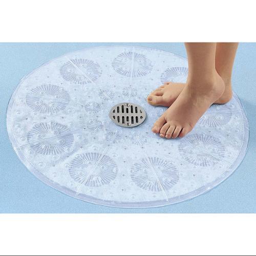 Nonslip Mat Powerful Suction Tub Mat Shower and Bathtub Mat 23/'/'x14/'/' Blue