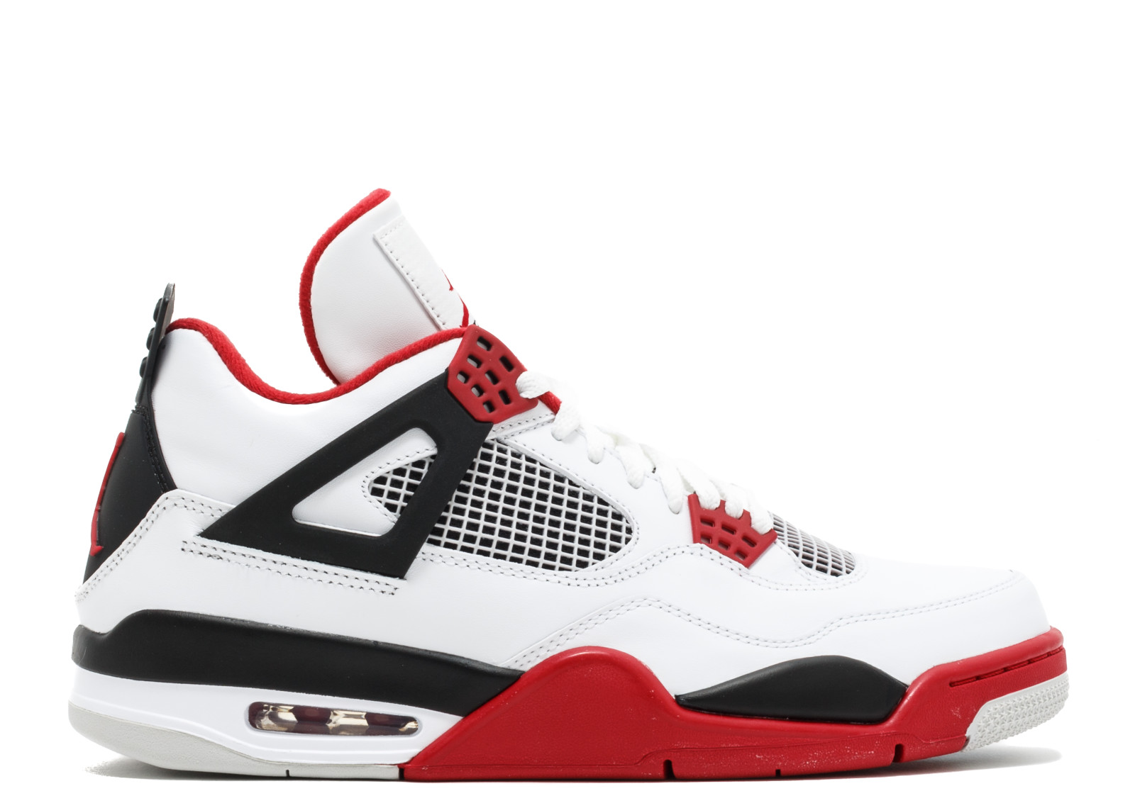 15e90dc38b6a1 Air Jordan 4 Retro Fire Red '2012 Release'- 308497-110 - Size 9.5