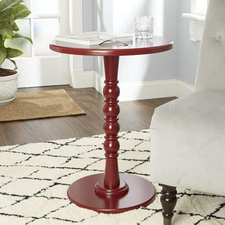 Silverwood Elise Turned Base Wooden Pedestal Table, -