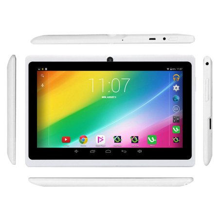 White Irulu 7  Android 6 0 Quad Core Dual Camera 9Gb Tablet Pc Google Gms Upgraded Version With Charger