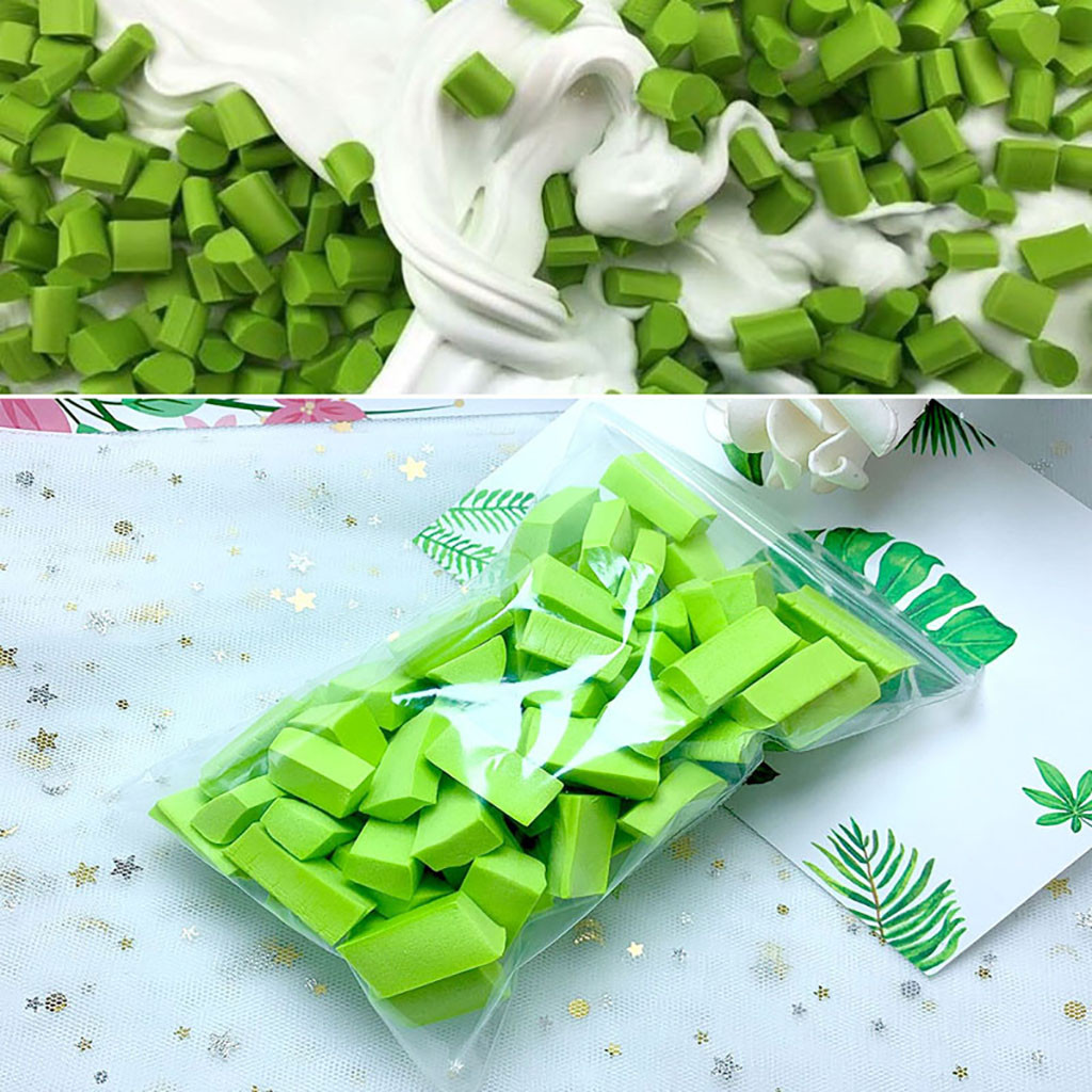 Soft Foam Chunks Beads Filler Slime Tool For Slime Making Art DIY Craft BK