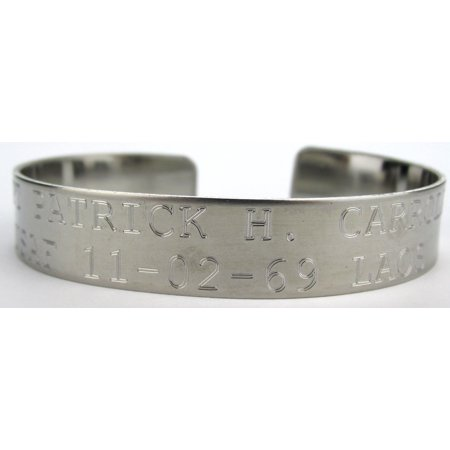 Vietnam Stainless Steel Pow Mia Bracelet Air Force Usaf