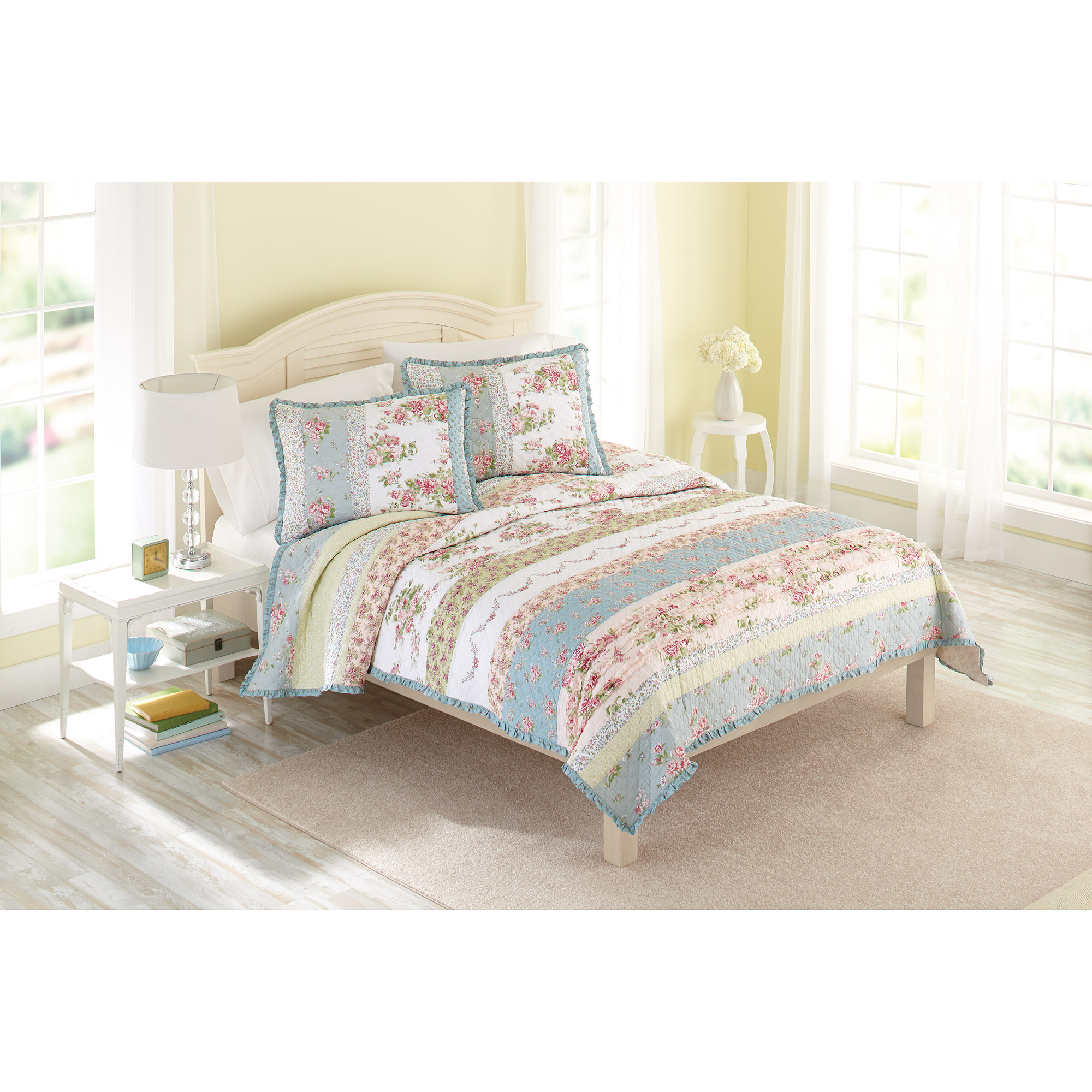 Better Homes and Gardens Country Chic Bedding Quilt Walmartcom