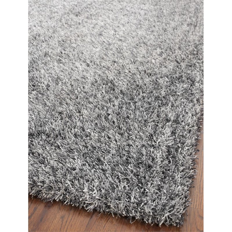 Safavieh Paris Shag 5' Square Hand Tufted Rug - image 2 of 2
