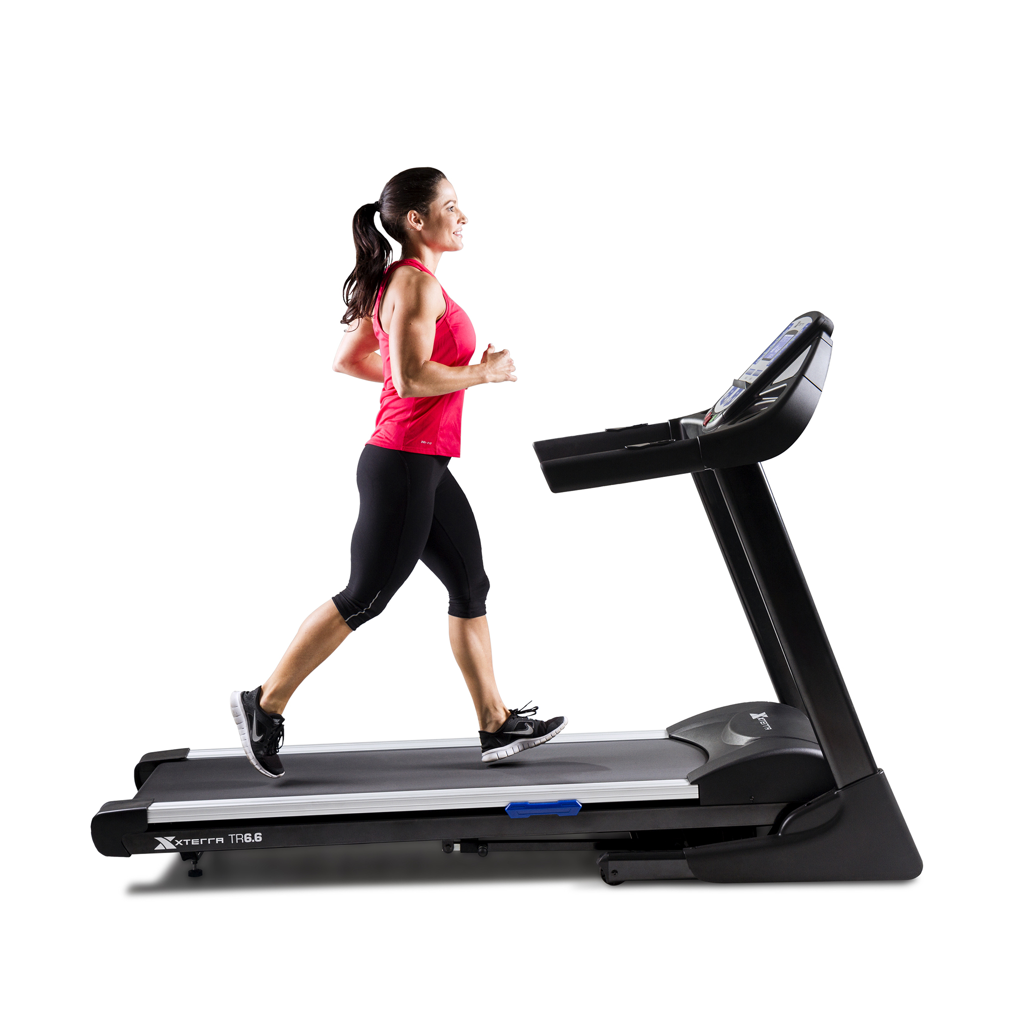 XTERRA Fitness TR6.6 Folding Treadmill with Heart Rate Chest Strap