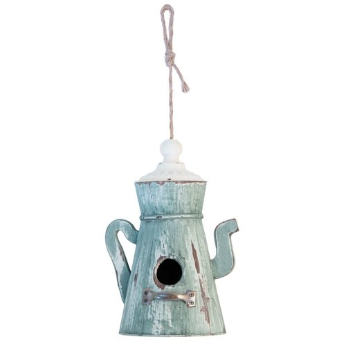 Boston International Teapot Garden 25 in x 6 in x 6 in Birdhouse by Boston International