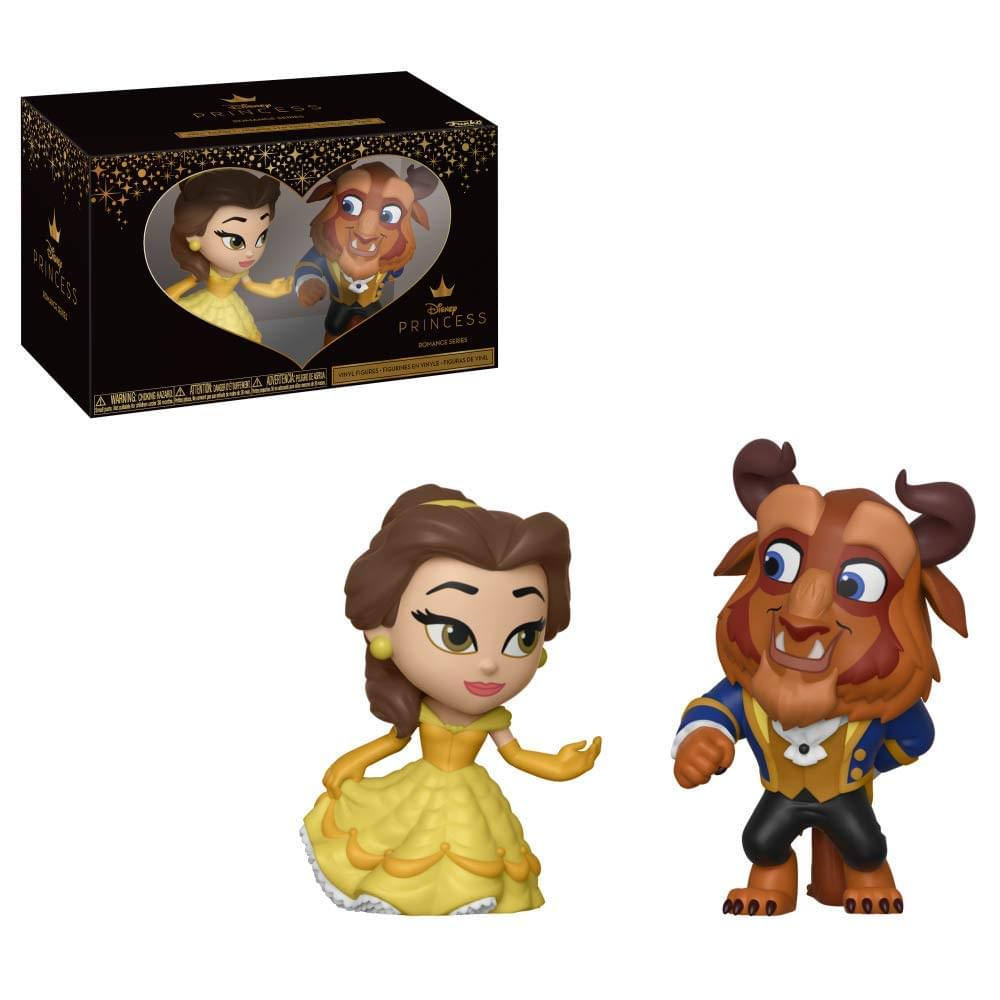 Funko Pop Disney Mini Vinyl Figures Beauty & The Beast and Belle 2 Pack Set