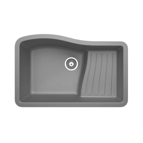 SWAN stone 32'' x 21'' Undermount Kitchen Sink