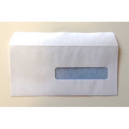 Claim Form Window Envelopes - CMS-1500 HCFA Self-Seal Window Envelopes for Claim Forms (No. 10-1/2) 4-1/2