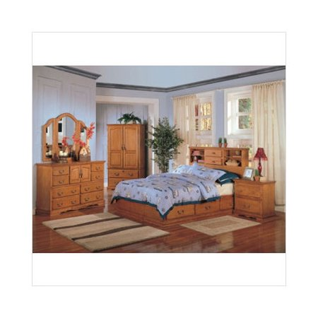 Wildon Home Austin Bedroom Set In Light Oak
