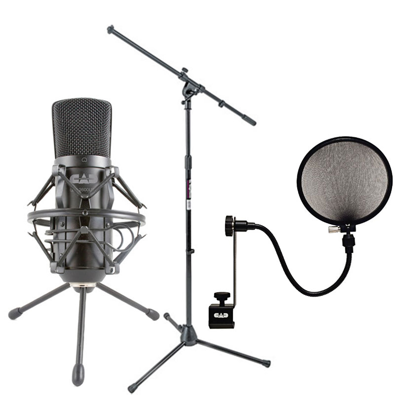 Cad Audio GXL2600 USB Premium Large Diaphragm Cardoid Condenser Microphone With 10' USB... by CAD