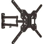 "Full-motion TV Wall Mount for most 23""-55"" flat panel TVs"