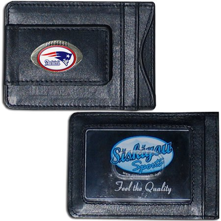 NFL - Money Clip and Cardholder,  New England Patriots