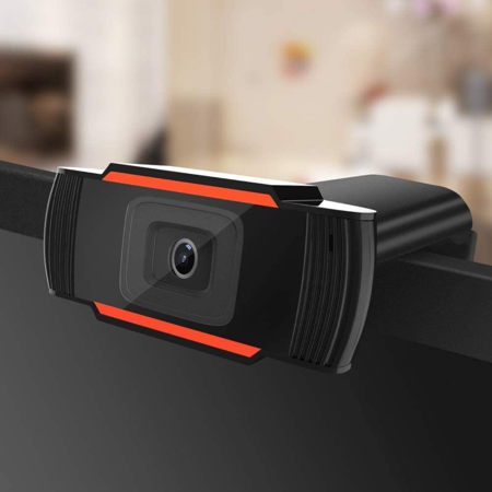 HD Pro Webcam C920, Widescreen Video Calling and Recording, 1080p Camera, Desktop / Laptop Webcam with Mic Macbook Pro Video Camera