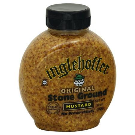 Inglehoffer Original Stone Ground Mustard, 10 oz
