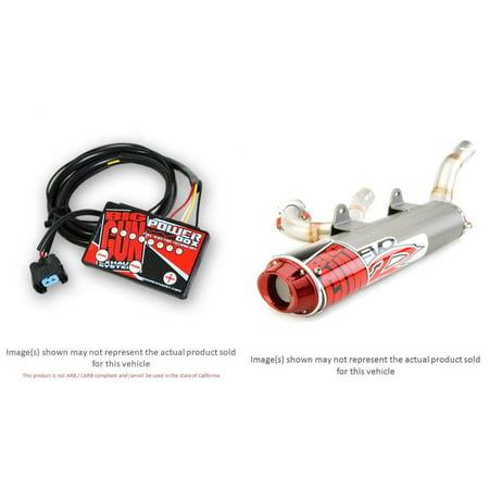 Exhaust Box (BIG GUN EVO R Full Exhaust System and TFI Power Box Kit for HONDA TRX700XX)