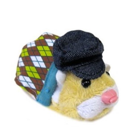 Zhu Zhu Pets Series 2 Hamster Outfit Argyle Sweater & Hat Accessory Set (Hamster Outfit)