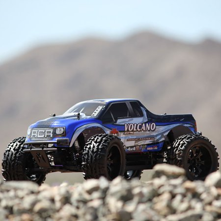Redcat Racing RER04289 Volcano EPX 1 by 10 Scale Electric Monster Truck, Blue - image 8 de 10