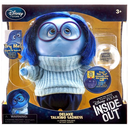 Disney / Pixar Inside Out Sadness Deluxe Talking Action Figure ()